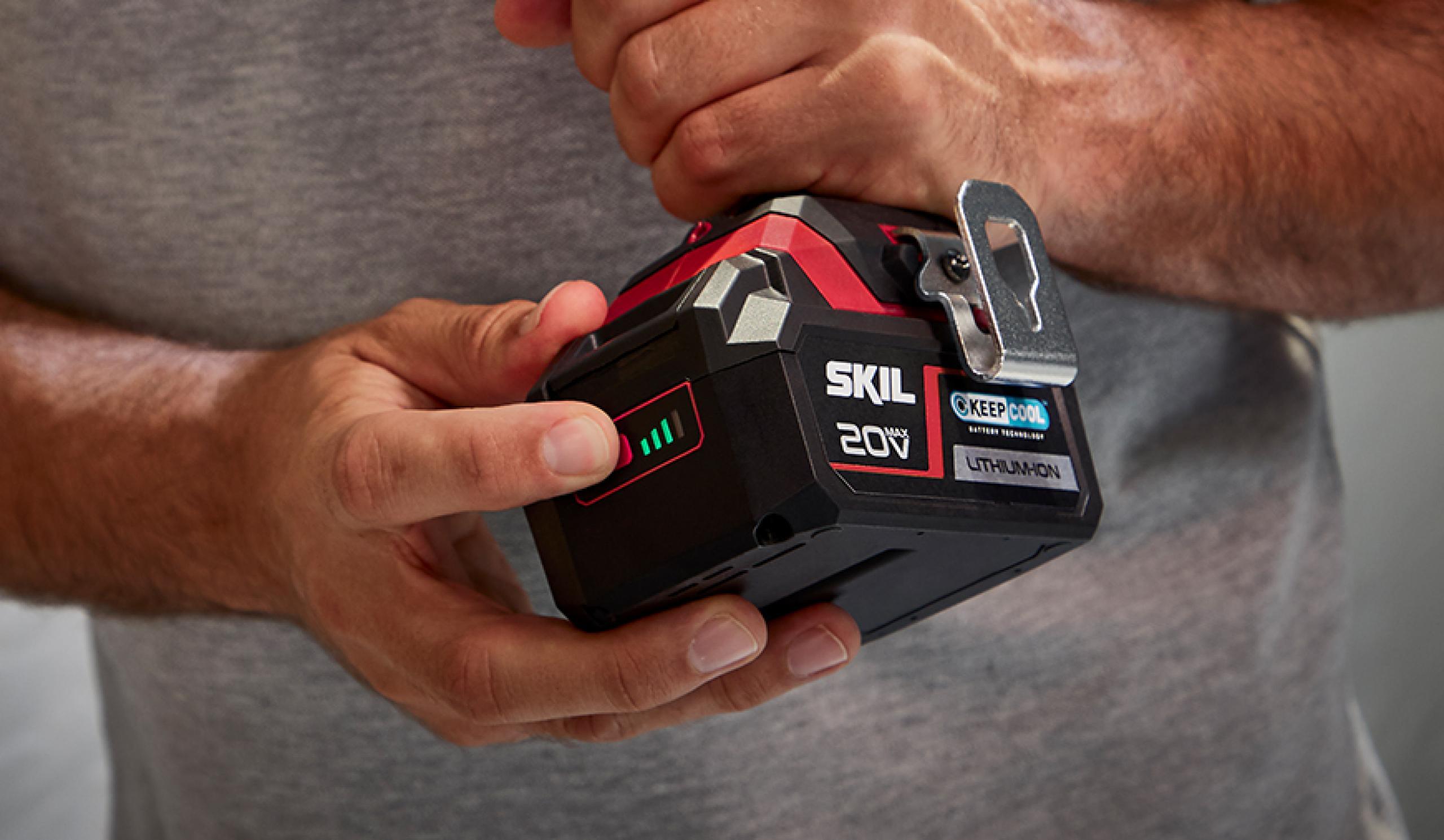Patentēts akumulatora uzlādes pakāpes indikators: indikators, kuram Jūs varat ticēt